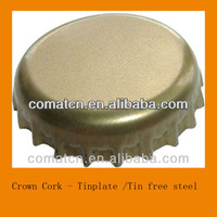 tinplate crown corks of beer cans from China