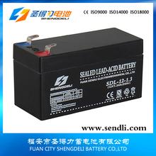 Good performance maintenance free Sealed lead acid 1.3ah 12v exide ups batteries vrla battery
