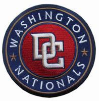 WASHINGTON NATIONALS TEAM LOGO JERSEY SLEEVE SHOULDER PATCH