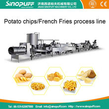 Automatic Frying Potato Chips Machine