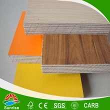 China commercial plywood with melamine veneer