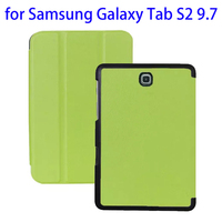 New design with Card Slots Leather for Samsung Galaxy Tab S2 9.7 leather case