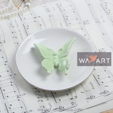 Colorful Ceramic Butterfly Ring Holder