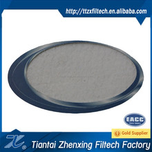 granular polyester needle punched felt filter cloth filter material