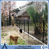Hot dip galvanized & Powder coated decorative steel outdoor fence/metal tubular fence