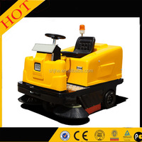 high quality Industrial electric sidewalk snow sweepers