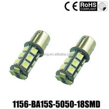 Car light s25 5050 LED 18 SMD 1156 ba15s LED