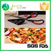 China wholesale FDA Utensils stainless steel rocker pizza cutter with opener
