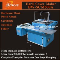 SCM500A hardcover photo album covering machine