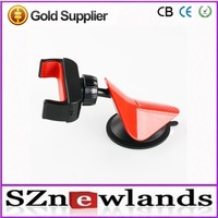 Top Quality!New Hot Universal ABS Material Car Mobile Phone Holder Car, Windshield/Desk Car Holder for Mobile Phone