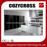 bathroom glass wall panel with CE and ROHS