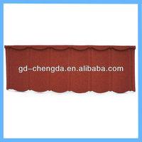 Villa steel roof tile/metal shingle