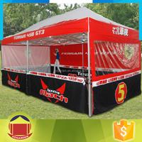 3x6m aluminium tent folding display printed canopy