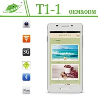 Consumer electronic 5 inch MTK6572 Dual Core 512MB 4G optional dual core i9577 mtk6577 android phone