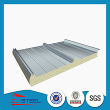 75mm thick roof sandwich panel for workshop and warehouse
