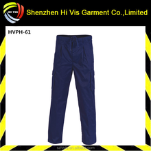 Hot sale polyester cotton mens cargo pants with side pockets