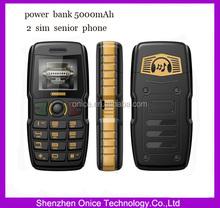 Power Bank Phone ADMET B30 5000mAh Speaker Flashlight Dual Sim Old Man People Senior Phone
