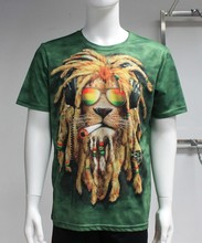 high quality dry fit 3D printing t shirt fashion popular 3D t shirt custom