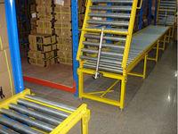 turnover gate roller conveyor