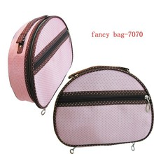 Fashion semi circle design trendy beauty bag