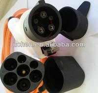 EV plug 62196 connectors/ IEC 62196 ev charger connectors/SAE J1772 charger connector car outlet
