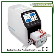 Peristaltic reaction still pump
