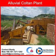 JXSC gravity alluvial coltan upgrading machine