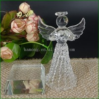 Crystal Gift for Wedding Minicraft Crystal Angel Figurines in Pujiang Factory