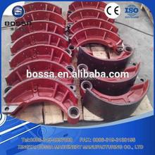 heavy duty auto spare parts crane parts HINO truck brake shoe