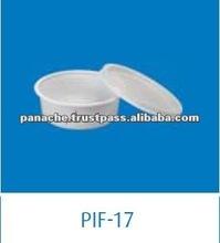 200cc White Disposable Plastic Food Storage Container