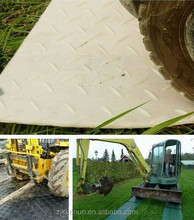 uhmwpe ground protection system mats/hdpe access lawn temporary road