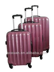 china supplier luggage set 3pc 20 24 28 trolley luggage