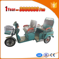 energy-saving cargo electric tricycle with pedal for passenger
