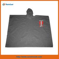 New design custom functional rain poncho pvc for adults
