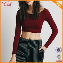 Sex girls fotos nuevo estilo rojo dri fit camiseta