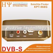 Good digital Satellite finder signal meter 3.5inch KPT-968G TFT DVB-S2 Handheld ABS-S CBS-S MPEFG-4 HD Signal sat finder Cheap