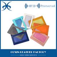nice design mini pocket card holder colorful card holder with embossed logo printing custom personal bus card holder