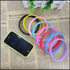 """circle frame china wholesale market silicone case to protect 4"""" smart phone&7"""""""