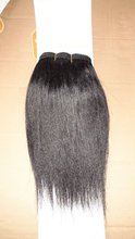 Factory sale aliexpress uk high quality virgin remy human hair 100% yaki curl human hair extension