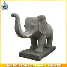 Hot outdoor Granite stone elephant statue elephant sculpture
