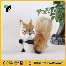 2015 factory cheap plush toy animal squirrel model new design