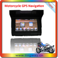 5 inch Motorcycle GPS with Bluetooth