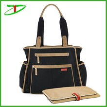 2015 new arrival mummy bags baby mommy bag, tote mommy bag
