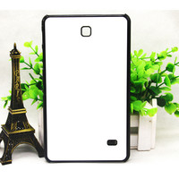 5 pcs / lots 2D custom blank heat printing sublimation tablet case caso for samsung galaxy tab 4 7.0 t321 free shipping