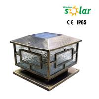 Decorative Outdoor Oriental Fairy Door Garden Solar Light LED Lighting Fixture JR-3018 Series