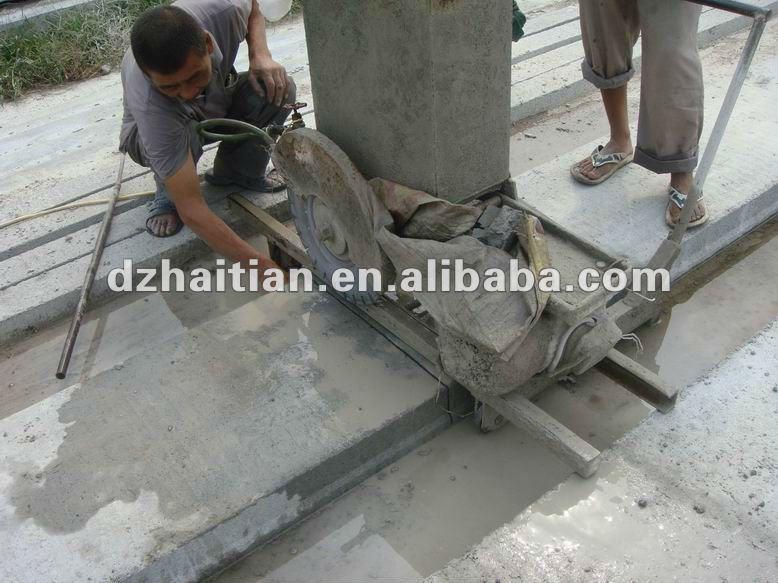 concrete floor cutting machine