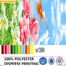 microfiber polyester disperse printing fabric with soft feeling for home textile