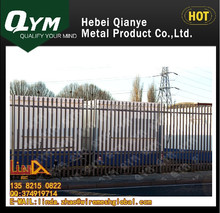 2015 Top quality hot dipped galvanized steel palisade fence/fencing for sale