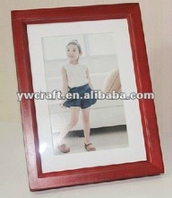 Mahogany wooden photo frame (2012 new design) hot selling