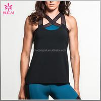 Wholesale custom Ladies gym wear, fitness women tank top ,high quality yoga clothing